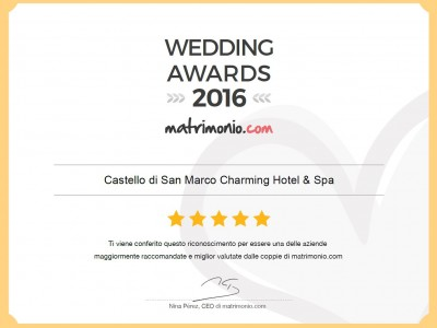 wedding awards sicilia 2016