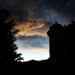 #clouds above the #castle #tower #hotel #boutiquehotel #sicily #sicile #sizilien…