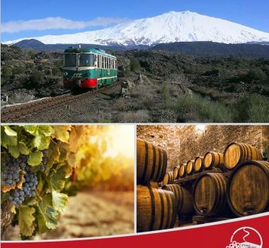 Offerta Treno dei Vini dell'Etna
