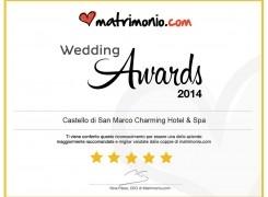 Wedding Awards Italia 2014