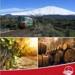 Il treno dei vini dell'Etna sicilia blog