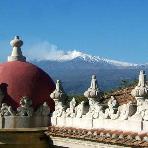Hotel Sicilia sul mare vista Etna